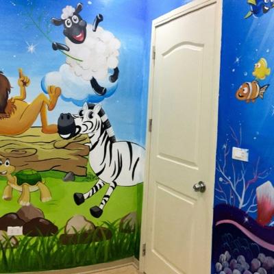 Trang trí phòng ngủ em bé 8