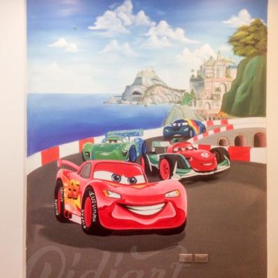 Trang trí phòng của bé - Mcqueen car 3