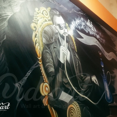 Quán cafe shisha Arabie 16