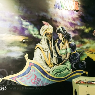 Quán cafe shisha Arabie 4