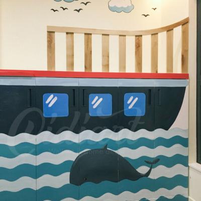 Phòng đọc sách cho bé với ý tưởng độc đáo - Đại dương kiến thức <3 6