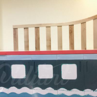 Phòng đọc sách cho bé với ý tưởng độc đáo - Đại dương kiến thức <3 10