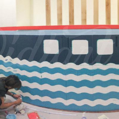 Phòng đọc sách cho bé với ý tưởng độc đáo - Đại dương kiến thức <3 8