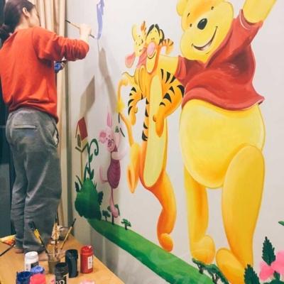 Phòng Cho Bé - Gấu Pooh và những người bạn 4