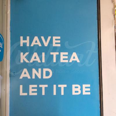 Trang trí không gian trà sữa Kai Tea 15