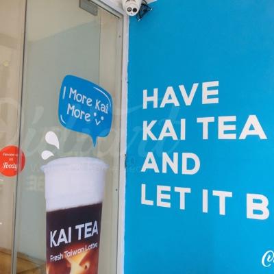 Trang trí không gian trà sữa Kai Tea 16