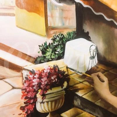 Trang trí phòng khách - Hồ Đền Lừ 5