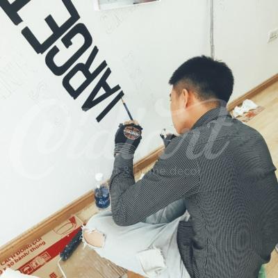 Vẽ Tranh Tường Văn Phòng SeVa 2