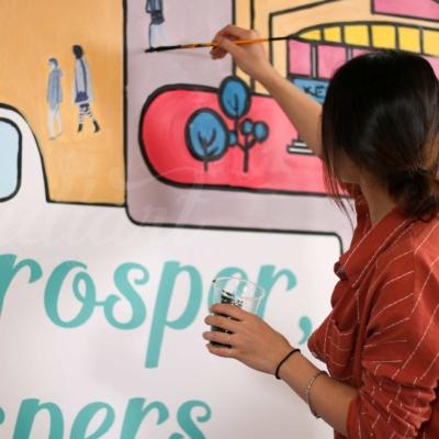 Sự kiện Womenwill - dự án sáng tạo của Google 11