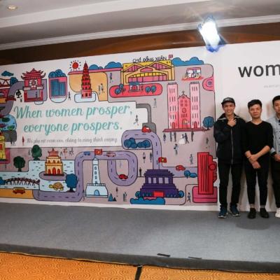 Sự kiện Womenwill - dự án sáng tạo của Google 16