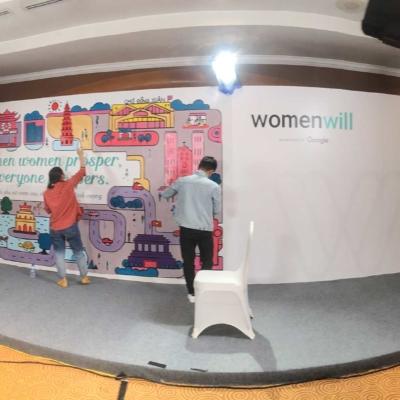 Sự kiện Womenwill - dự án sáng tạo của Google 3