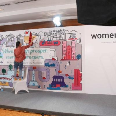 Sự kiện Womenwill - dự án sáng tạo của Google 5