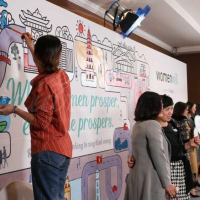 Sự kiện Womenwill - dự án sáng tạo của Google 6