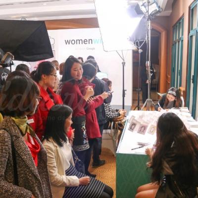 Sự kiện Womenwill - dự án sáng tạo của Google 7