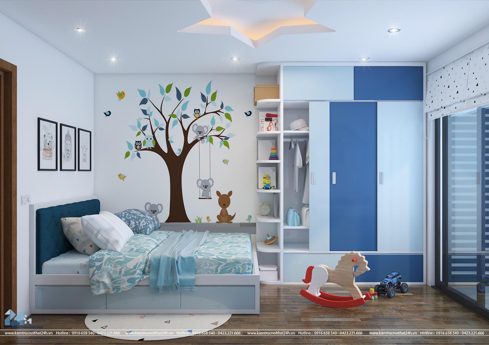 Trang trí phòng cho bé – Goldmark City 1