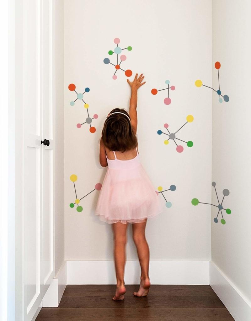 Những ưu điểm khi sử dụng decal dán tường cho bé 2