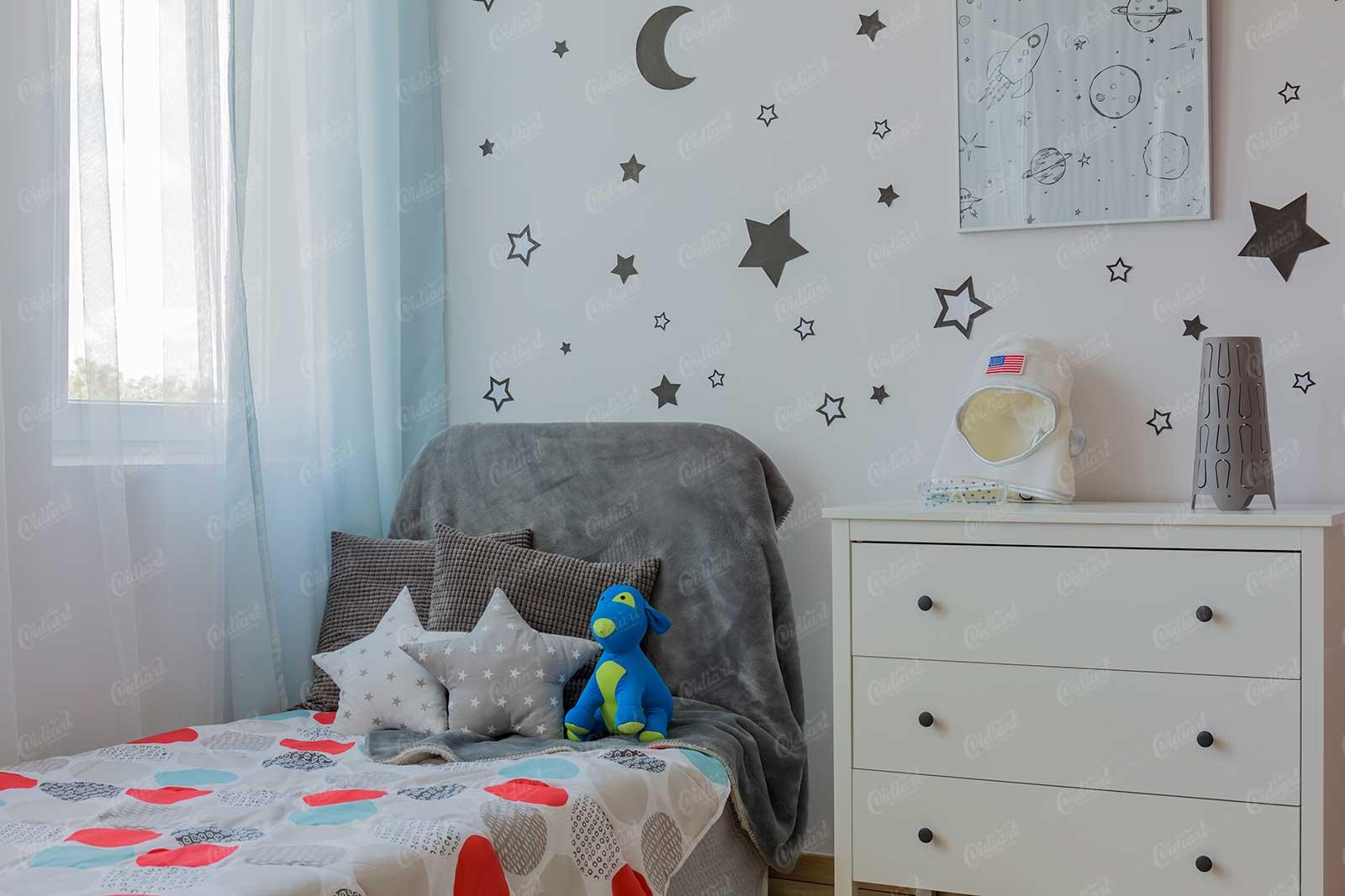 Giường ngủ đẹp cho phòng bé trai