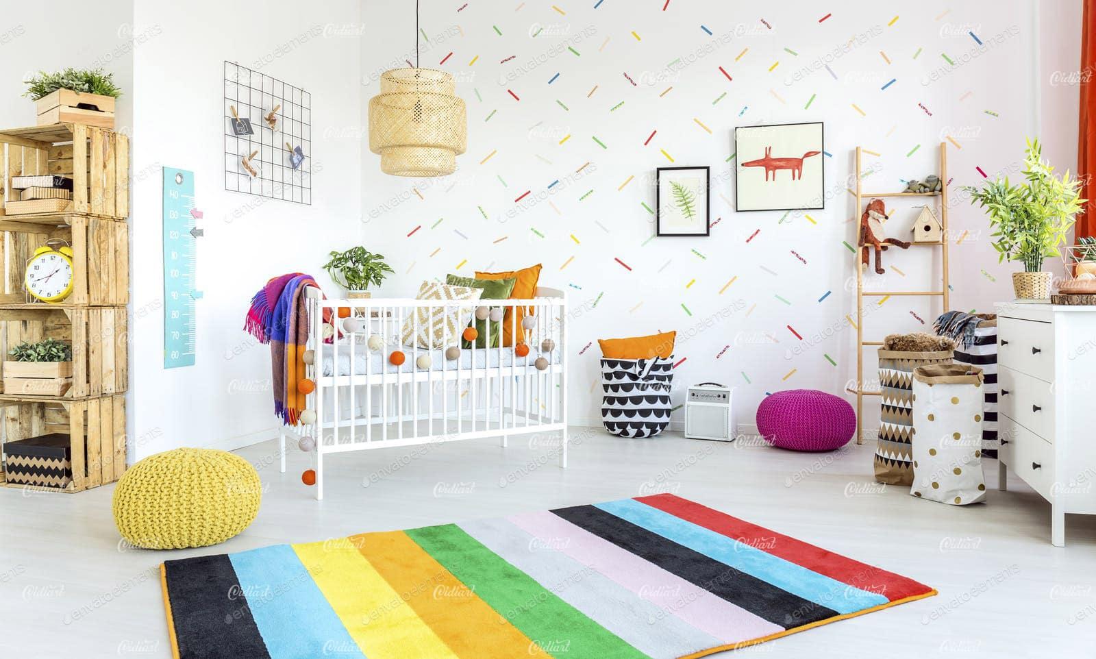 6 lưu ý nhỏ khi trang trí phòng ngủ cho bé yêu 1