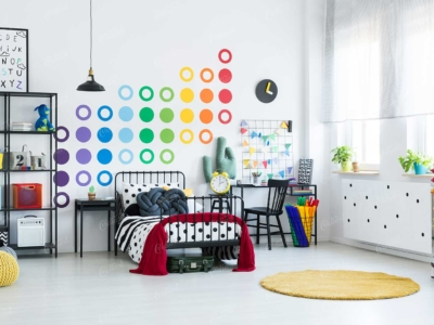 Trang trí phòng cho bé với giấy dán tường