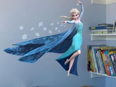 Trang trí phòng cho bé bằng tranh dán tường 3D