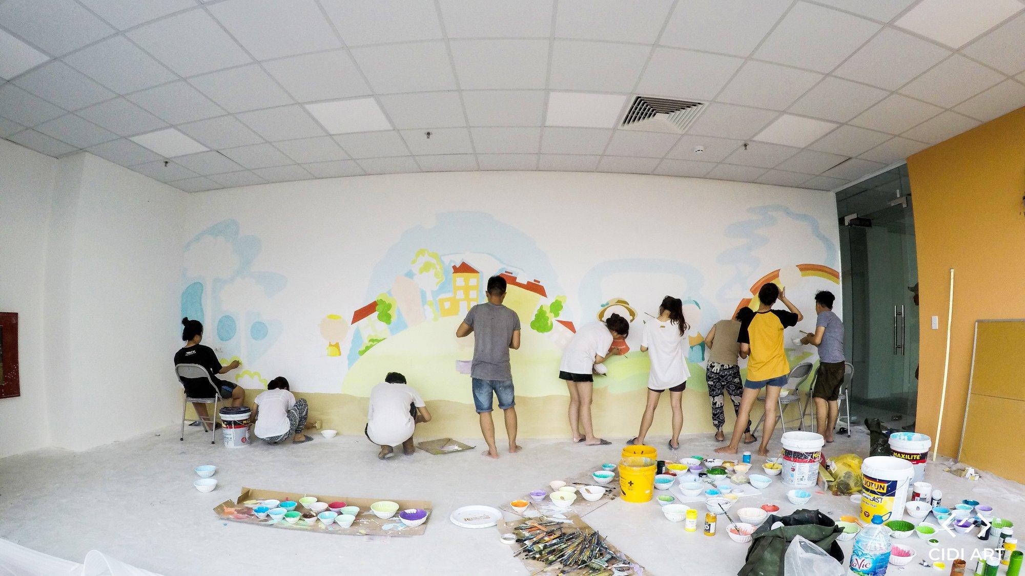 Thông Tin Tuyển Dụng Hoạ Sĩ Vẽ Tranh Tường 2