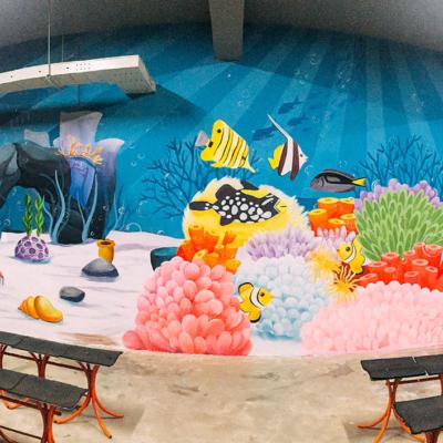 Vẽ tranh tường công ty YIDA Việt Nam 9