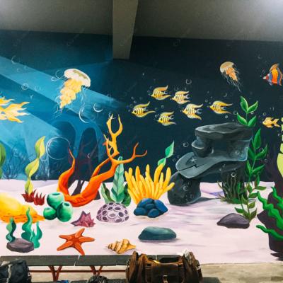 Vẽ tranh tường công ty YIDA Việt Nam 13