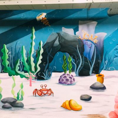 Vẽ tranh tường công ty YIDA Việt Nam 18