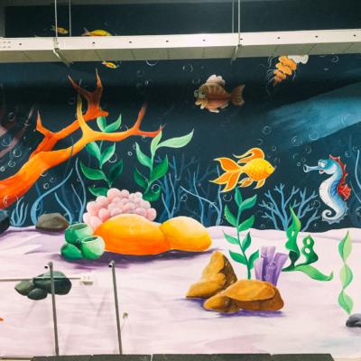 Vẽ tranh tường công ty YIDA Việt Nam 19