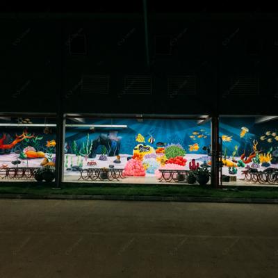Vẽ tranh tường công ty YIDA Việt Nam 7