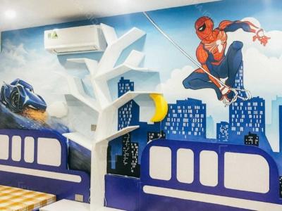 Vẽ Tranh Tường Phòng Ngủ Cho Bé 7