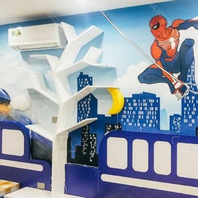 Vẽ Tranh Tường Phòng Em Bé 7