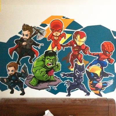 Vẽ Tranh Tường Phòng Em Bé 8