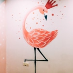 Vẽ tranh tường phòng em bé Golden Season 21
