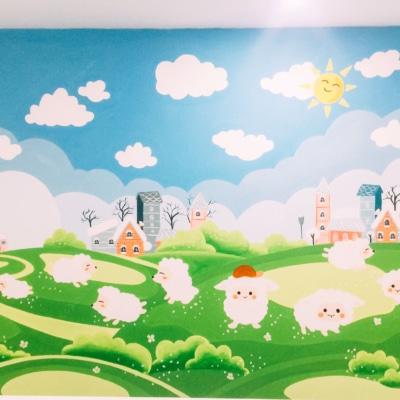 Vẽ Tranh Tường Phòng Em Bé 9