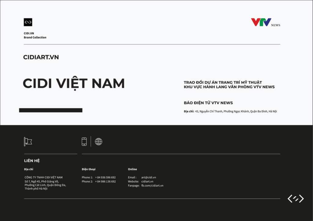 Báo giá vẽ tranh tường - vtv_news