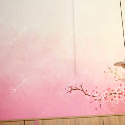 Vẽ tranh tường quán lẩu - Dao Hua - Taiwanese Hotpot Paradise Hà Nội 4