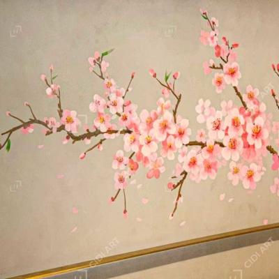 Vẽ tranh tường quán lẩu - Dao Hua - Taiwanese Hotpot Paradise Hà Nội 2