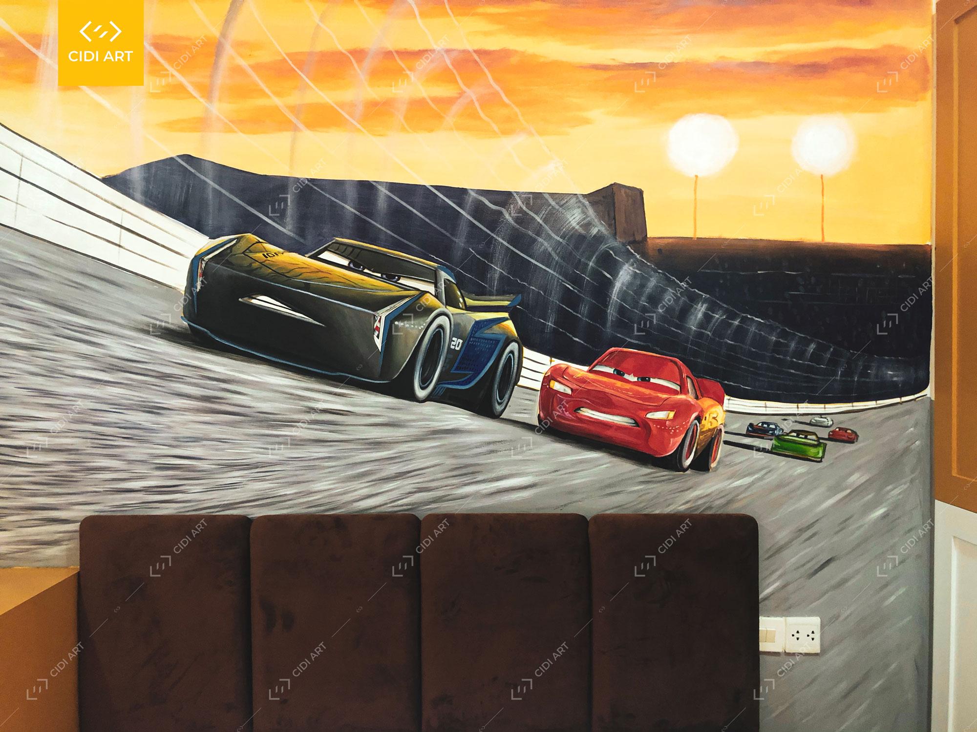 Vẽ Tranh Tường Phòng Em Bé - Chung Cư Thăng Long Number One 3